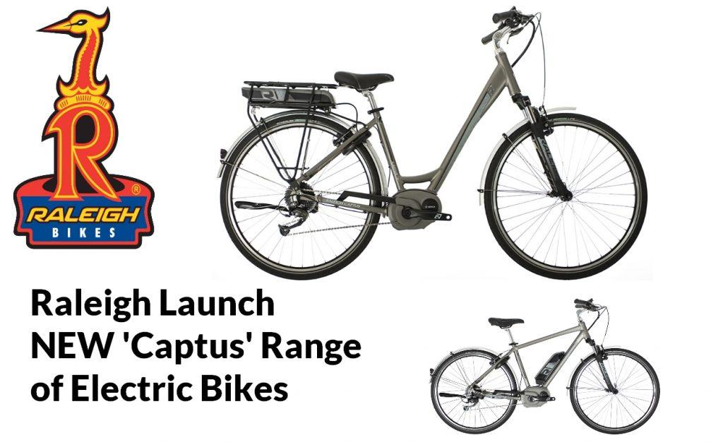 Raleigh Captus Electric Bikes