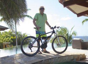 Richard Branson Scott Electric Bike