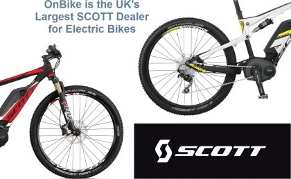 Scott Electric Mountain Bikes