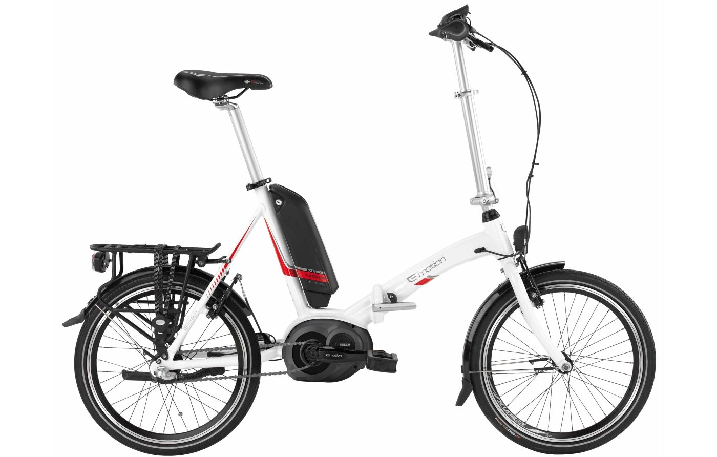 xenion volt folding electric bike with bosch motor from bh. Black Bedroom Furniture Sets. Home Design Ideas