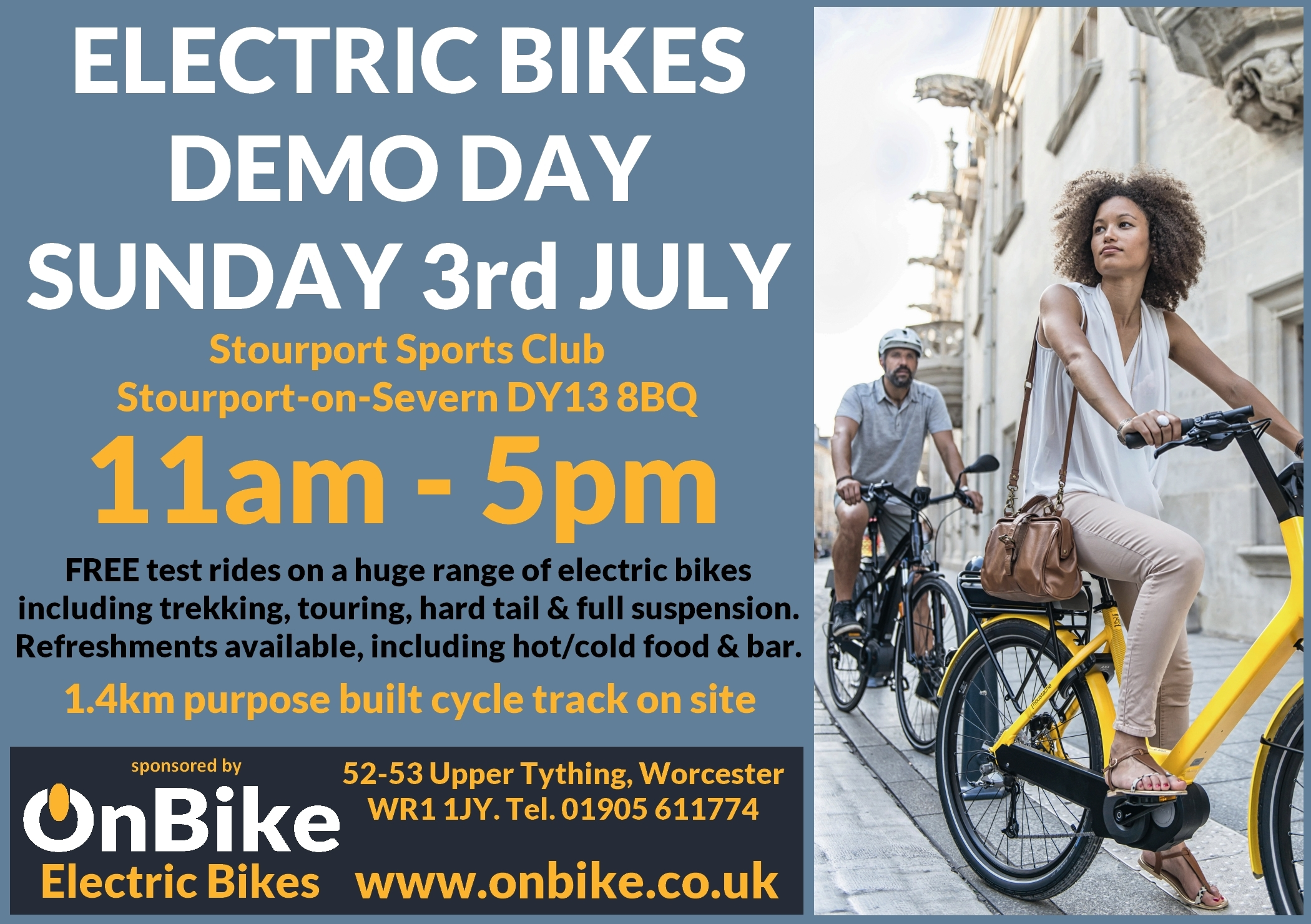 OnBike Demo Day