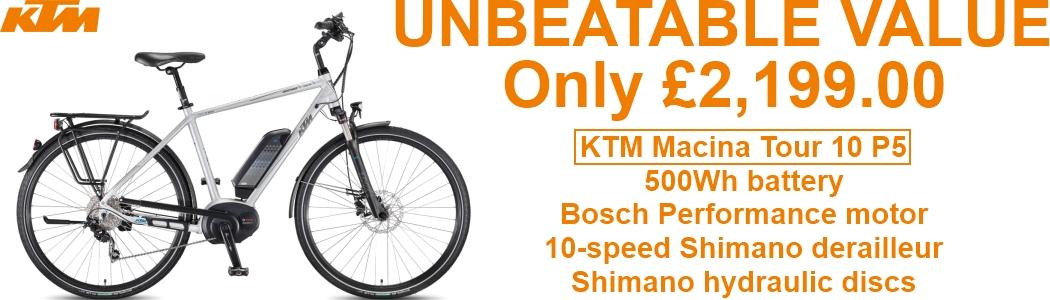 KTM Macina Tour Banner