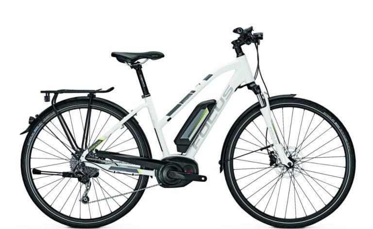 Aventura Elite White Electric Bike