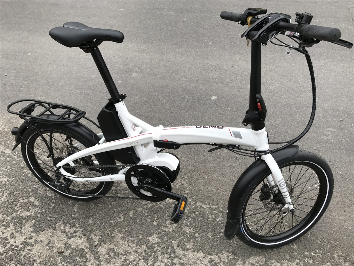 vektron electric folding bike by tern folding e bike. Black Bedroom Furniture Sets. Home Design Ideas