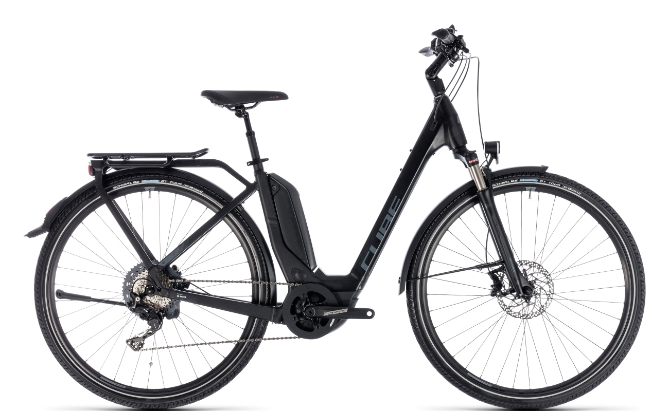 cube touring hybrid exc 500 onbike electric bikes west. Black Bedroom Furniture Sets. Home Design Ideas