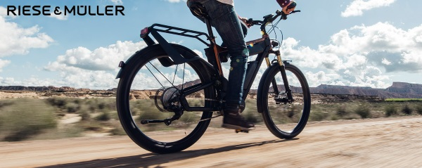 Riese and Muller E-Bikes