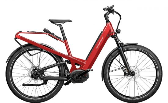 Homage GT Rohloff 2020 Electric Red Metallic