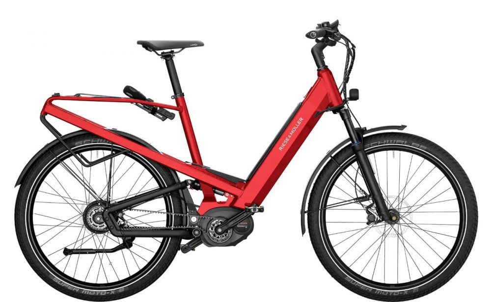Homage GT Vario 2020 Electric Red Metallic