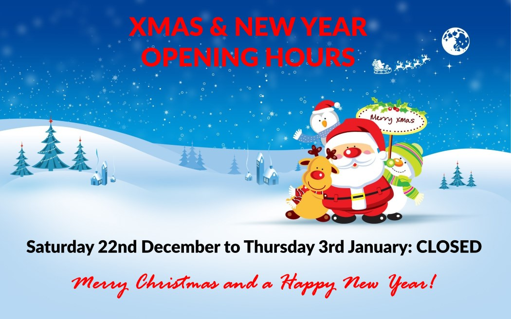 Christmas Hours.Christmas New Year Trading Hours 2018 2019