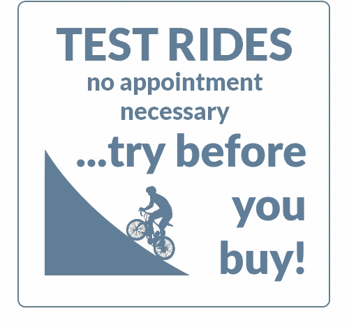 Electric Bike Test Rides