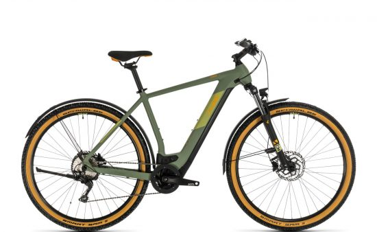Cube Cross Hybrid Pro 625 Allroad - Green