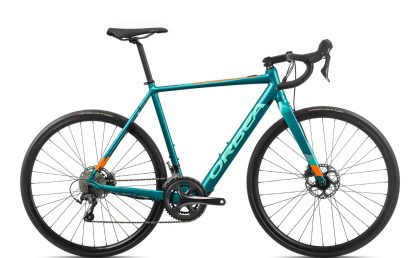 Orbea GAIN D40 Turquoise-Orange