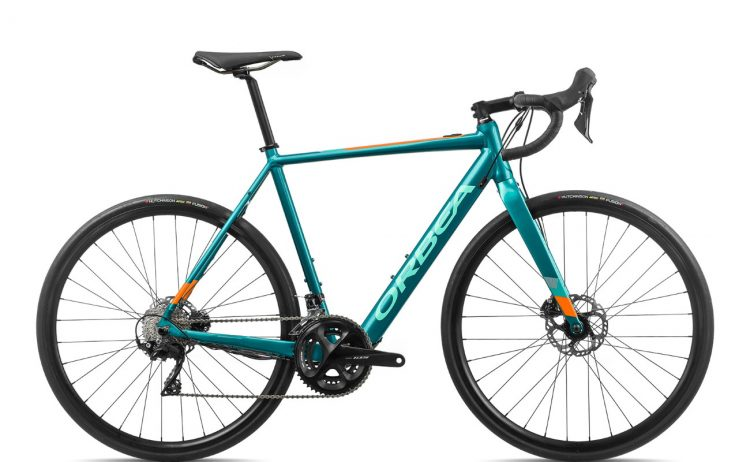 Orbea Gain D30 Turquoise-Orange