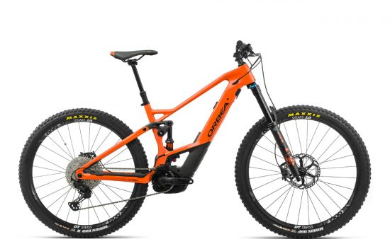 Orbea WILD FS M10 Orange-Black