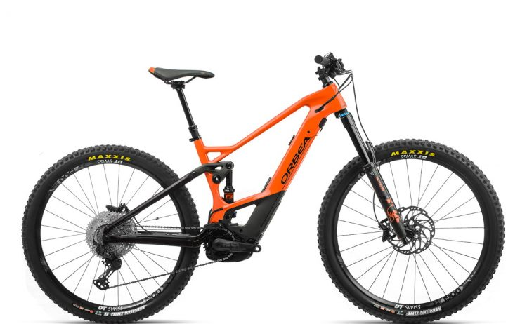 Orbea WILD FS M20 Orange-Black
