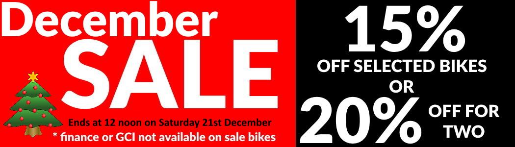 Christmas 2019 eBike sale