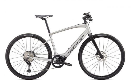 Specialized Turbo Vado SL 5.0 - Brushed Aluminium & Black Reflective