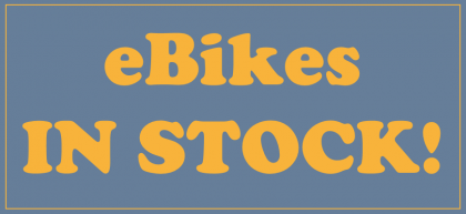 eBikes in stock