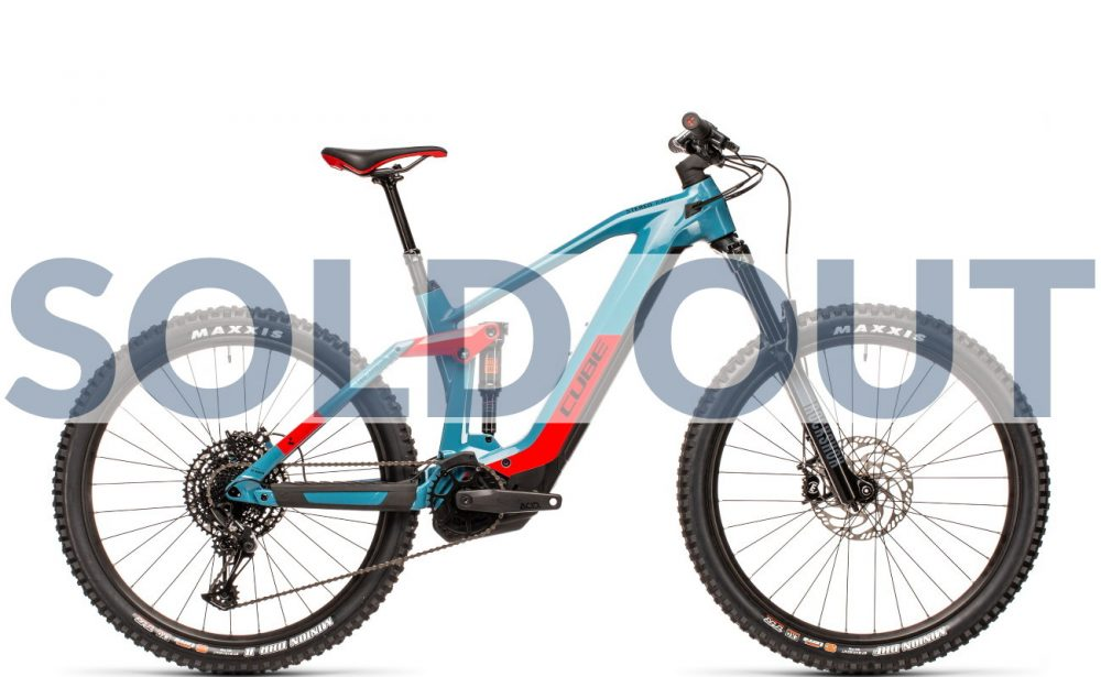 CUBE Stereo Hybrid 160 HPC Race 625 27.5 - SOLD OUT