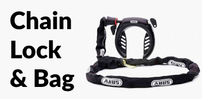 Multicharger GT Light chain lock & bag