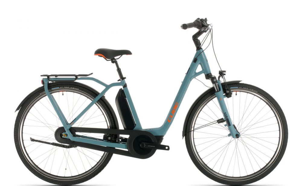 CUBE Export Town Hybrid PRO 500 - blue